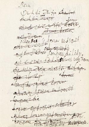 """Juli 1670 datiert, unterschrieben ist er mit """"Hans Jacob Christoffel von."""